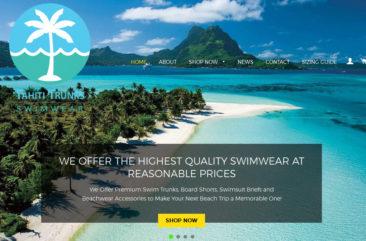Tahiti Trunks Swimwear